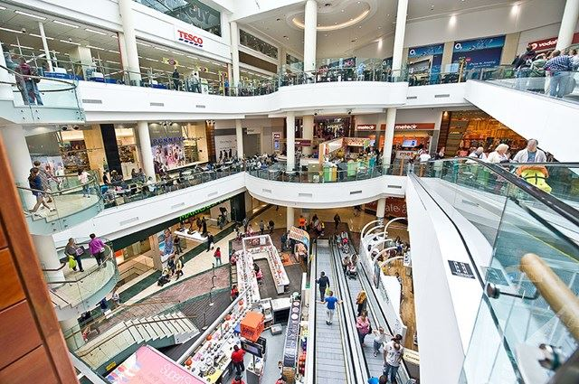 Dundrum Town Centre Interior